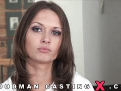 Алиса Миллер на порно кастинге у Вудмана